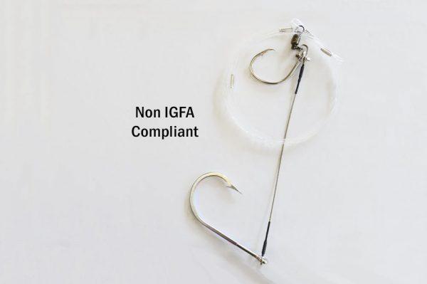 Broadbill Twin hook rig Non IGFA