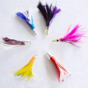 6 inch Tuna Feather Daisy Chain