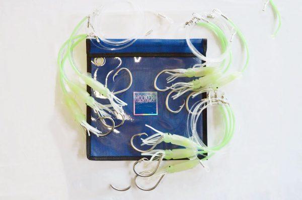 3 pack - 3 Hook SS Hook Puka Dropper Rig
