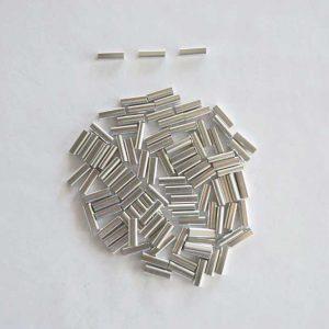 Aluminium Oval Crimps Size 1mm